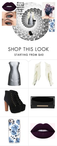 """Tough Day Out"" by kenzi-rose-crawford on Polyvore featuring Leka, Jeffrey Campbell, Jimmy Choo and Casetify"