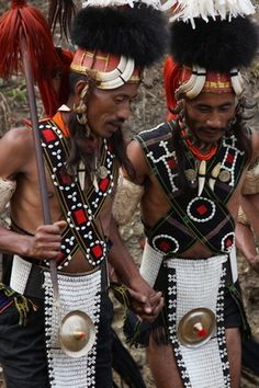 Hornbill Festival. Nagaland. India. 2007. from the world photography collection of Richard Notebaart of Radboud University, Netherlands.