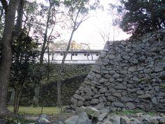 宇和島城 山里倉庫 石垣 2015.02.11