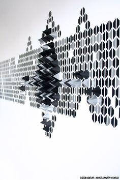 NDEUR + MAKE A PAPER WORLD by Le Creative Sweatshop , via Behance