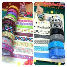 Received my order of washi tapes from @heydiyers yesterday to add to my *coffcoffgrowingcoff* colllection. Superb service and nice quality tapes for afforadble price. 🎀 Check out her washi tape catalogues.  I'm gonna go crazy designing envelopes and letters with these babies. Uyeahh! 😍😙😘🙌✉