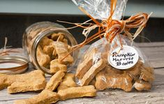 "Pumpkin Dog Biscuits: ""The dog follows me around the kitchen from the time I get the ingredients out until I take them out of the oven. They are his favorite treat!"" -Deely"