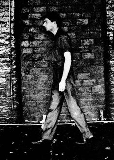 Ian Curtis, Joy Division, 28 April 1980 - Love Will Tear Us Apart video shoot Joy Division, Sound Of Music, Music Is Life, Ian Curtis, Music People, Types Of Music, Post Punk, New Wave, Music Bands