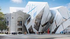 Toronto's Top 10 : Royal Ontario Museum - The Crystal The highlight of the museum's renovation is the Michael A. Lee-Chin Crystal, a magnificent glass and aluminum-clad addition designed by world-renowned architect Daniel Libeskind and named for the lead donor.