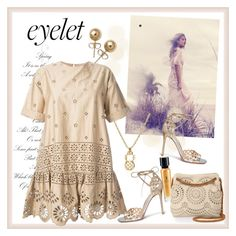 """Peek-A-Boo: Eyelet"" by carola-corana ❤ liked on Polyvore featuring Sea, New York, Yves Saint Laurent, STELLA McCARTNEY, Gianvito Rossi, Bling Jewelry, eyelet and polyvoreeditorial"