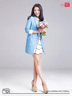 cool Park Shin Hye Spring Photoshoots!