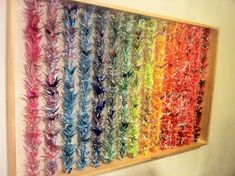 thousand origami cranes. i like the Senbazuru display. 1000 Paper Cranes, 1000 Cranes, Origami Paper, Origami Cranes, Hanging Origami, Origami Birds, Origami Animals, Paper Crane Mobile, Auction Projects