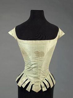 Marie Antoinette's court dress bodice ca. 1780-87