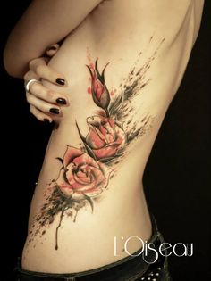 40 Eye-catching Rose Tattoos