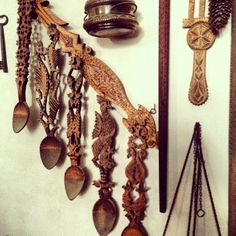 adrianoianu #romania Wooden Spoons, Romania, Hand Carved, Folk, Carving, Rustic, Traditional, Stone, Country