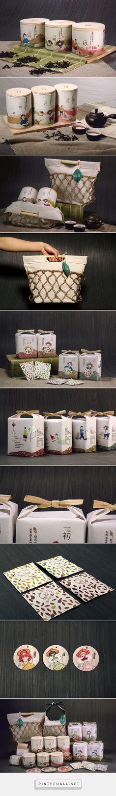 有機茶包裝設計 - 一初Original Mind / Tea packaging / by DONG YI TING