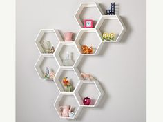 Hooks and Shelves That Do Anything But Blend In