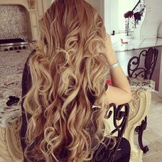 Long And Curly
