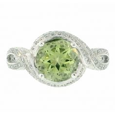 Green Tourmaline and Pave Diamond Ring Vail Colorado, Green Tourmaline, Jewelry Design, Diamond, Rings, Collection, Ring, Jewelry Rings, Diamonds