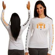 adidas Tennessee Volunteers Ladies Fourth Quarter Comeback Long Sleeve T-Shirt - White