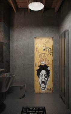 10 modern Bathroom Design Ideas 1 10-Industrial-Bathroom-Design-Ideas-3…