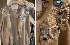 Oscar-de-la-Renta-embroidered-cardigan