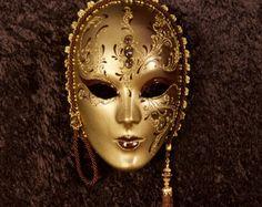 Máscara veneciana Rómulo por OriginalVeniceShop en Etsy