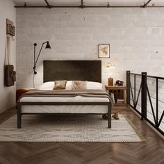 AMISCO - Zip Code (12408-60) - Furniture - Bed - Industrial collection - Contemporary