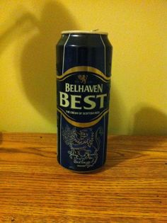 Belhaven Best - Scotland beer. Had one of these while staying in the Scottish capital.