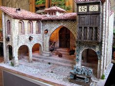 Os enseño alguno de los ultimos trabajos que he realizado. La Plaza Aragonesa, inspirada en construcciones de casas del Maestrazgo Turolens...