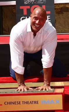Dwayne Johnson Photos - Dwayne 'The Rock' Johnson is immortalized with a hand and footprint ceremony at the TCL Chinese Theatre IMAX on May 2015 in Hollywood, California. - Dwayne 'The Rock' Johnson Immortalized With Hand and Footprint Ceremony Wwe The Rock, Dwayne The Rock, Rock Johnson, Dwayne Johnson, Hooray For Hollywood, Hollywood Walk Of Fame, John Fox, Jack Whitehall, Rock Hand