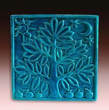 I love teal and Mexican tiles.  This would be an amazing backsplash piece.