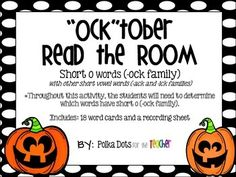 This holiday freebie can be used as a literacy activity while learning about short o/reviewing other short vowels. It focuses on short o words (-ock family).  There also are other short vowel words (-ack and ick families).Throughout this activity, the students will need to determine which words have short o (-ock family).Includes: 18 word cards and a recording sheet