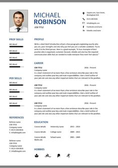 Pick one of our free modern resume templates when applying for a modern job opening. They are available for instant download and entirely editable download free blue and brick red geometric modern resume Modern Resume Template, Resume Templates, The Third Person, Cover Letter For Resume, Job Title, Job Opening, Printable Worksheets, Pick One, Brick