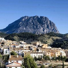 Back side of Puig Campana, Costa Blanca