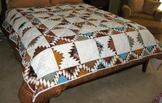 Image detail for -this quilt was my first it s called delectable mountains and is queen ...
