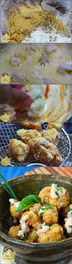 Soooo Thai!! http://menumusings.blogspot.com/2012/07/spicy-fried-cauliflower-bites.html