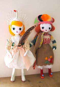 Gorgeous Handmade Rag Dolls from Around the World