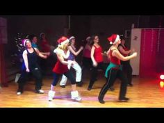 All I want for Christmas...... cute routine & very easy - YouTube