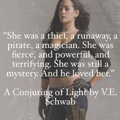 A Conjuring of Light V.E. Schwab