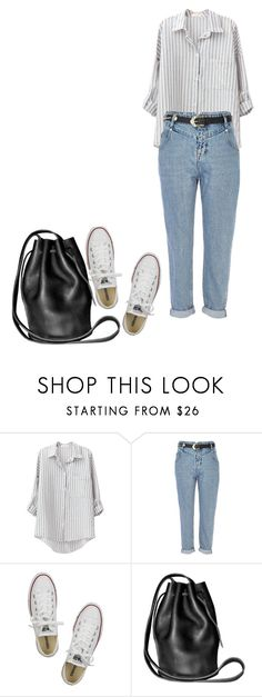 """""""10.08.2017"""" by klorikon00 on Polyvore featuring River Island, Converse and Cynthia Rowley"""