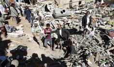 هيومن رايتس تؤكد استخدام العدوان السعودي اسلحة عنقودية في اليمن