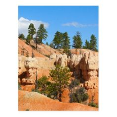 Bryce Canyon hoodoos Utah Postcard - postcard post card postcards unique diy cyo customize personalize