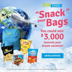 """Snack"" your Bags Contest"