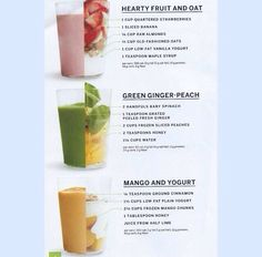 Cleansing smoothies