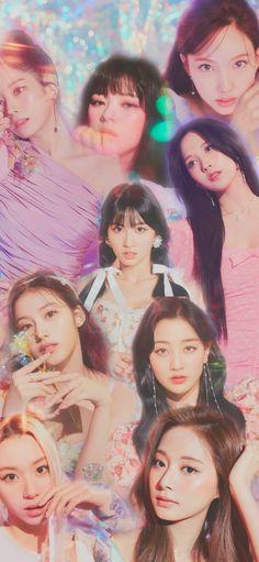 Tzuyu Wallpaper, Love Wallpaper, Lock Screen Wallpaper, Twice Jihyo, One In A Million, Pink Aesthetic, Nayeon, Aesthetic Wallpapers, Kpop Girls