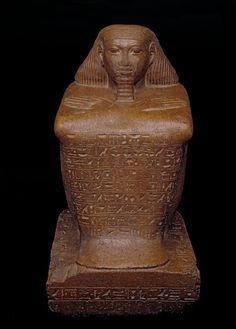 Statue of Senenmut, Architect of the mortuary temple complex of Hatsheput -