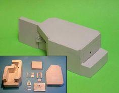 DOLP - Modellbau, Top, Shop, Bunkermodelle 1/72, B 7211 - Regelbau B1-1