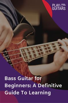 Check out our guide to the bass guitar for beginners. We cover the equipment you are going to need, choosing a bass guitar, and how to start playing. Play Guitar Chords, Learn Bass Guitar, Learn To Play Guitar, Guitar Solo, Guitar Tips, Blues Guitar Lessons, Basic Guitar Lessons, Guitar Lessons For Beginners, Learn Guitar Beginner
