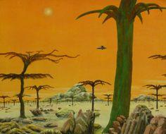 Ian S Bott - Artwork - Orange Sky