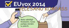 """Jauna, """"LA.lv"""" izvietota aplikācija palīdzēs izlemt, par ko balsot EP vēlēšanās"""
