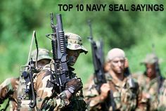 The Top 10 Navy SEAL Sayings and Their Meanings – Motivational Quotes, Images and Definitions (SlideShare)  #NavySEALs #USNavySEALs #Sayings #Quotes