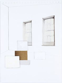 Credit: Rachel Whiteread/Gagosian Gallery, London  Two Windows, 2007