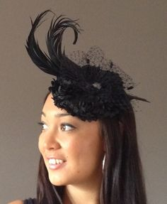 black beauty - HATZ BY THE SEA #HatAcademy #Hats #millinery