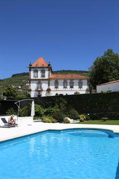hotels in douro valley pool at casa das torres de oliveira